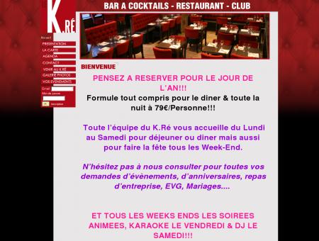 Restaurant Bezons : LE K.Ré - Restaurant, bar...