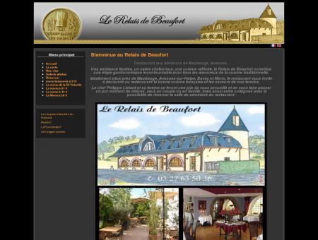 Le Relais de Beaufort, Restaurant sur...
