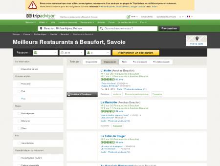Les 10 meilleurs restaurants à Beaufort -...