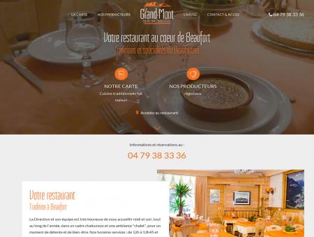 Restaurant Beaufortain - Votre restaurant...