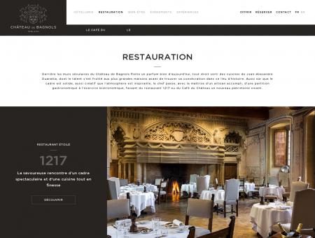 Restaurant Gastronomique au coeur du Château