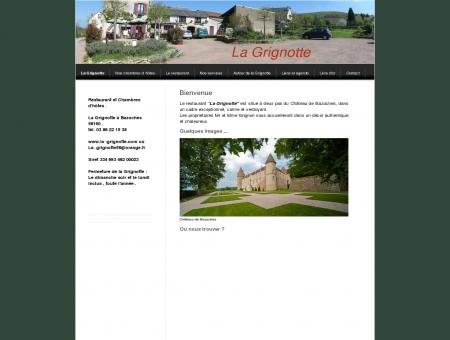 Bienvenue à la Grignotte. - La Grignotte :...