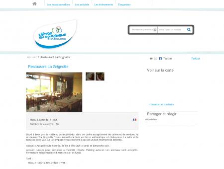 Restaurant La Grignotte - Nouveau !