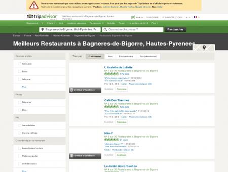 Les 10 meilleurs restaurants à Bagneres-de...