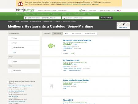 Les meilleurs restaurants à Canteleu -...