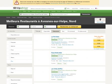 Les 10 meilleurs restaurants à Avesnes-sur...