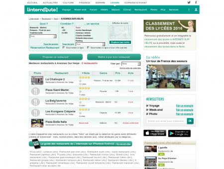 Restaurant Avesnes Sur Helpe : Le guide des...
