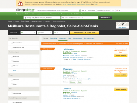 Les 10 meilleurs restaurants à Bagnolet -...