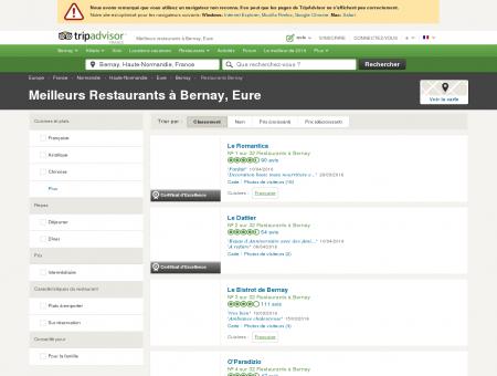 Les 10 meilleurs restaurants à Bernay -...