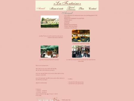 Restaurant-Grill La Fontaine (27) : Accueil