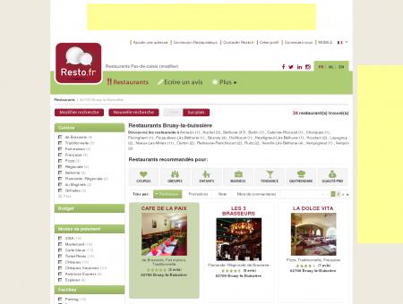 Restaurant Bruay-la-Buissière - Guide...
