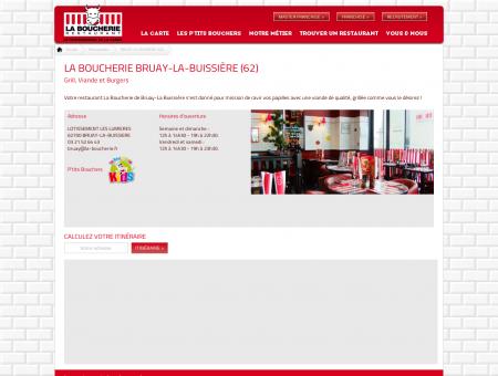 Restaurant Grill et Viande - La Boucherie...