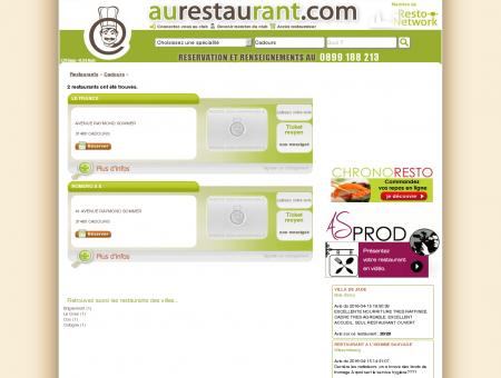 Les restaurants de CADOURS - AuRestaurant -...