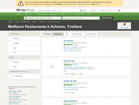 Les 10 meilleurs restaurants à Acheres -...