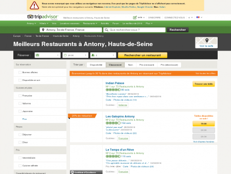 Les 10 meilleurs restaurants à Antony -...
