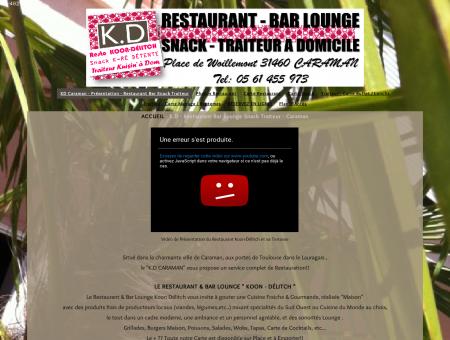 ACCUEIL - Restaurant Bar Snack Traiteur...