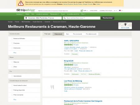 Les meilleurs restaurants à Caraman -...
