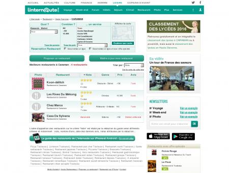 Restaurant Caraman : Le guide des meilleurs...