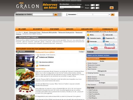 Restaurant Koon-délitch Caraman restaurant...