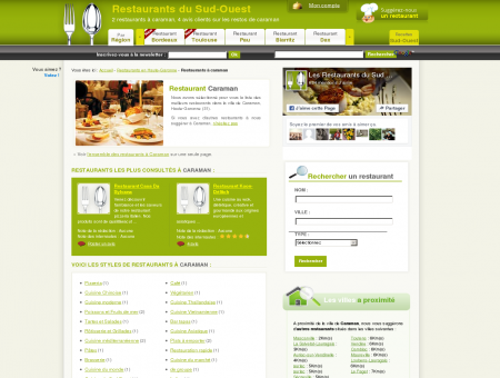 Restaurant à caraman - Guide des restaurants...
