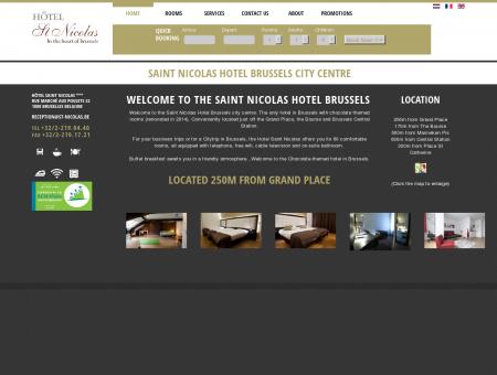 Hotel Saint-Nicolas - Hotel Brussels City Centre, Grand ...