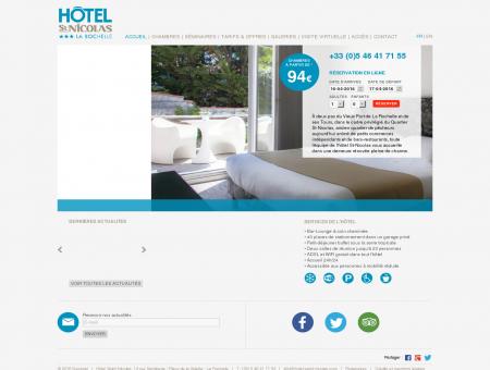 Hôtel La Rochelle Saint-Nicolas - Hôtel 3...