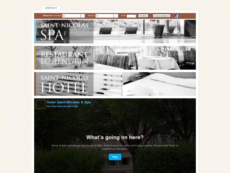 Hôtel Saint-Nicolas : Spa - Restaurant - hôtel ...