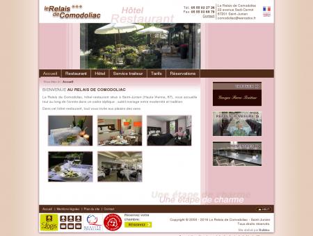 Hotel Restaurant - Le Relais de Comodoliac -...