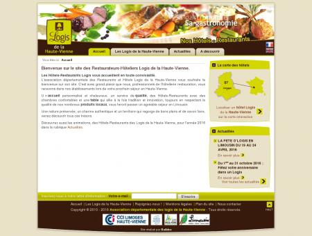 Hotel Restaurant Haute-Vienne Logis