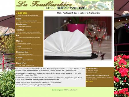 Hotel Restaurant, Bar et traiteur la feuillardière
