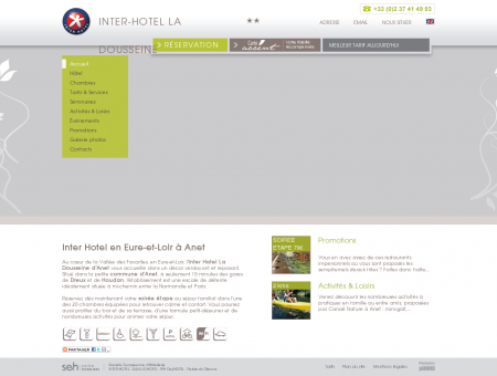 Hotel Anet Soirée étape Houdan en Eure-et...