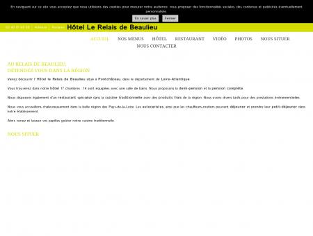 Hôtel Le Relais de Beaulieu à Pontchâteau en...