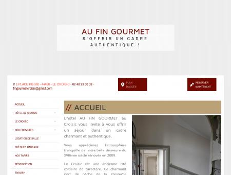 Hôtel Restaurant au Croisic - le fin gourmet -...