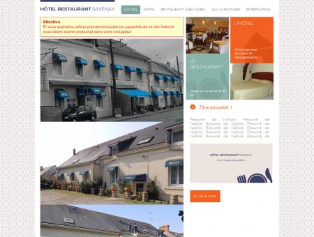 Hôtel restaurant de la gare à savenay, loire...