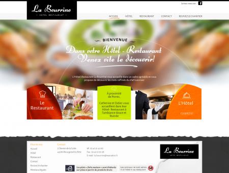 La Bourrine - Hôtel et Restaurant à Bourgneuf...
