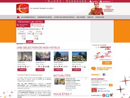 Contact Hôtel : réserver votre hôtel...