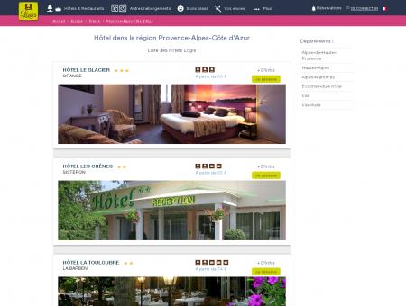 Réservez votre hôtel en région Provence-Alpes...