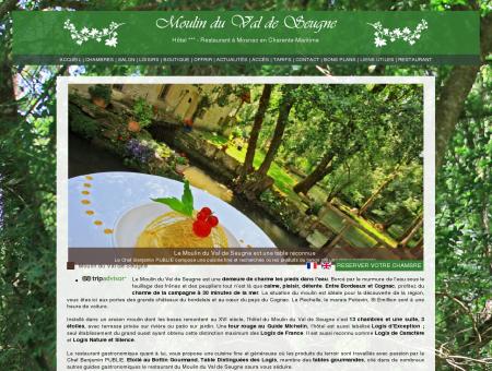 Moulin du Val de Seugne, hôtel restaurant,...