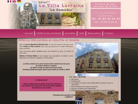 Hôtel La Villa Lorraine en Meurthe et Moselle,...