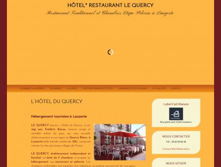 LE QUERCY Hôtel du Quercy à Lauzerte - Etape...