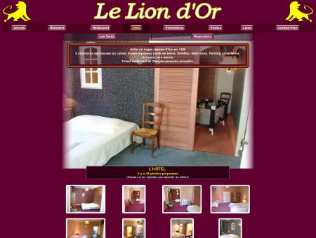 HOTEL LE LION D'OR Hotel Restaurant à Selles...