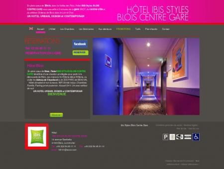 Hotel Blois - Hôtel IBIS Styles Blois - Hotel Loir...