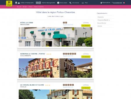 Réservez votre hôtel en région Poitou...