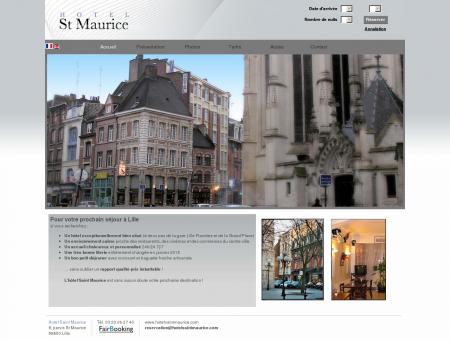 Hotel Saint Maurice Site Officiel