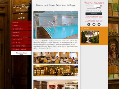 Hotel Restaurant Colmar - Le Rapp - Hôtel...