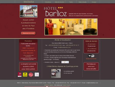 Hôtel Berlioz - SITE OFFICIEL - Au cœur des...