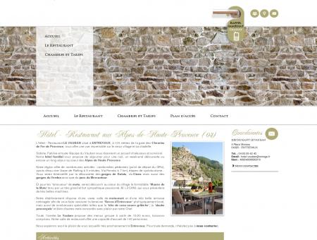 Hotel Entrevaux - RESTAURANT LE VAUBAN :...