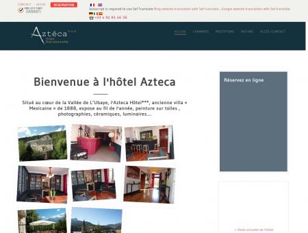 Hôtel Azteca Barcelonnette - Accueil