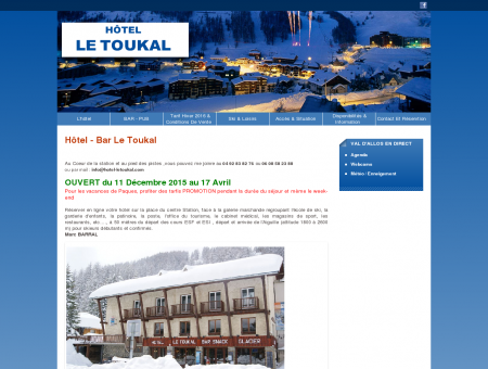 Hôtel Le Toukal