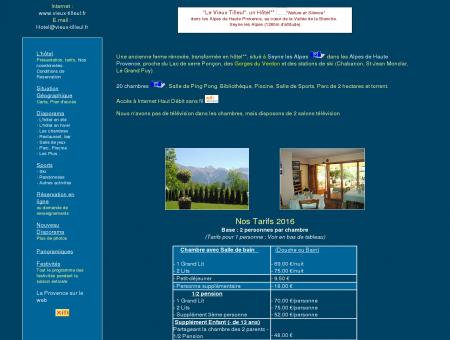 hôtel à Seyne les Alpes dans les Alpes de...